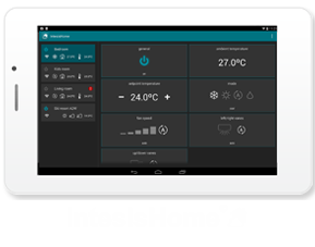 Add an IntensisHome WiFi Controllers to any Air Conditioning system.